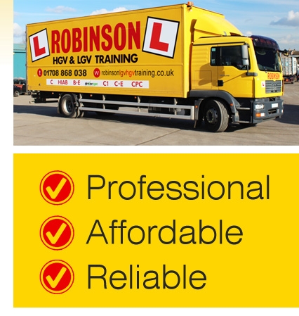 LGV Driver Training Centre in Thundersley