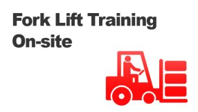 Fork lift training