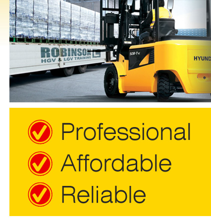 Forklift Driver Training Centre in Rowhedge